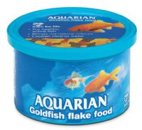 Aquarian Goldfish Flake 50g Coldwater Fish Goldfish Shubunkin Oranda Food